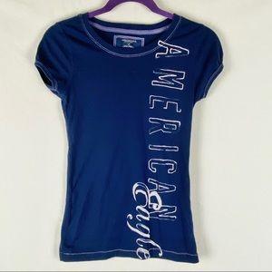 American Eagle Tshirt Navy Blue